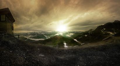 Alpenpanorama-II