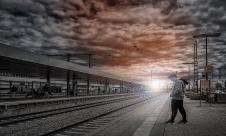 .....am-Bahnhof